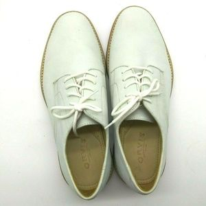 Orvis Buck Off White Nubuck Oxford Derby Size 9 US